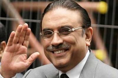 ،پیپلز پارٹی کے مخالفین کو شکست نظرآچکی ہے:آصف علی زرداری