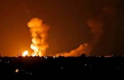 اسرائیلی ٹینکوں اورجنگی جہاروں نے غزہ پٹی پربمباری کی, نوجوان سمیت 4فلسطینی شہید ہوگئے