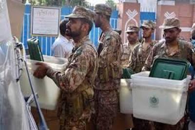 ملک بھر میں پولنگ اسٹیشنوں پر انتخابی عملے اور سیکیورٹی اہلکاروںکی تعیناتی کی تیاری مکمل کر لی