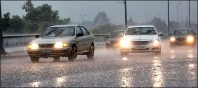 ملک بھرمیں مون سون بارشوں کا سلسلہ جاری