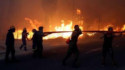 یونان:جنگل میں شدید آگ لگنے سے 20 افرادہلاک