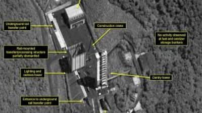 شمالی کوریا نے اپنی میزائل تنصیبات کو تباہ کرنا شروع کردیا ہے