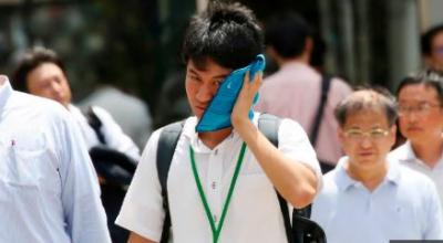 جاپان کے دارالحکومت ٹوکیو میں شدید گرمی کی جاری لہر سے 18افراد ہلاک ہو گئے