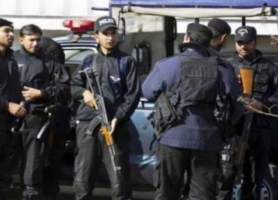 پشاور:پبی پولیس نے تخریب کاری کا بڑا منصوبہ ناکام بنا دیا