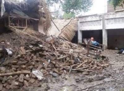مردان میں بھاری بارش کی وجہ سے دو افراد ہلاک