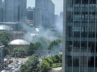 بیجنگ: امریکی سفارتخانے کے باہر دھماکا