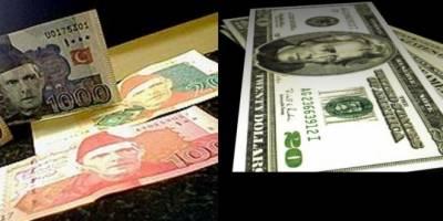 پاکستانی کرنسی کے مقابلے میں ڈالر کی قدر میں 5 روپے 36 پیسے کی کمی کے بعد انٹر بینک میں ایک ڈالر 122 روپے 50 پیسے کا ہوگیا۔