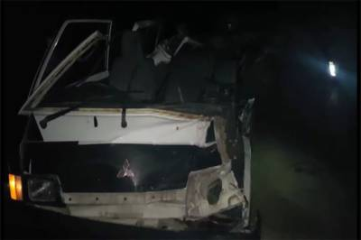 بدین:وین اورٹریکٹرٹرالی میں ٹکر،ایک شخص جاں بحق،5افرادزخمی،پولیس