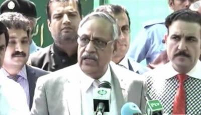اسلام آباد:سیکرٹری الیکشن کمیشن بابر یعقوب کی میڈیا سے گفتگو
