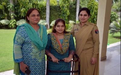 آرمی چیف جنرل قمر جاوید باجوہ کا لاہور کی باہمت بیٹی فجر کیلئے خصوصی اقدام