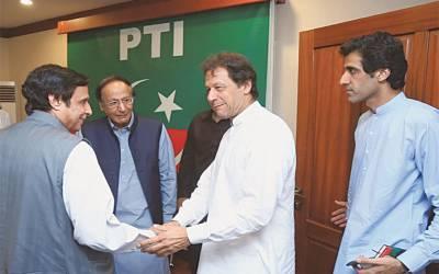 تحریک انصاف نے اسپیکر پنجاب اسمبلی کیلئے پرویز الہی کا تجویز کردیا۔