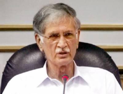 عمران خان کابینہ کیلئے جس کا نام فائنل کریں گے وہ منظور ہوگا، پرویز خٹک