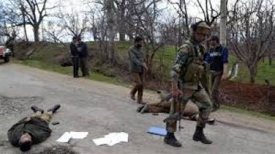 سری نگر:بھارتی فورسز نے سوپور میں 2کشمیریوں کو شہید کردیا،کشمیری میڈیا