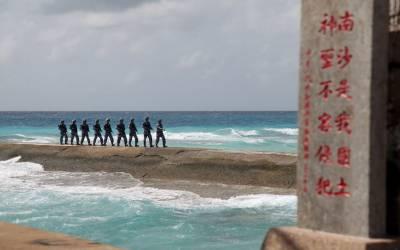امریکا کے بغیر بحیرہ جنوبی چین میں فوجی مشقیں کی جا سکتی ہیں۔ چین