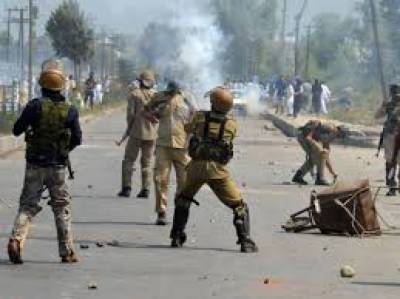 Indian forces killed two Kashmiris in occupied Kashmir.