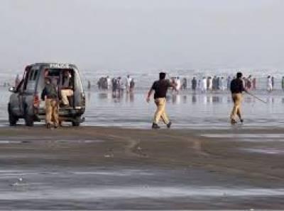کراچی میں آج سمندر میں نہانے پر پابندی عائد