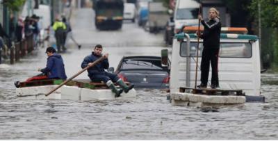 فرانسیسی جزیرے میں سیلاب سے بچے سمیت 4افراد ہلاک