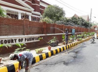 ''محفوظ اور خوبصورت لاہور'' منصوبے پر کام جاری