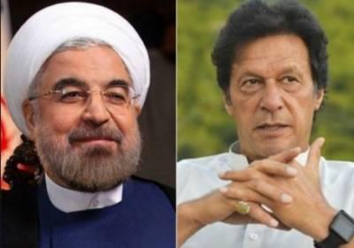 ایرانی صدر حسن روحانی کا چیئرمین تحریک انصاف عمران خان سے ٹیلی فون پر رابطہ، عمران خان نے ایرانی صدر کے دورے کی دعوت قبول کرلی