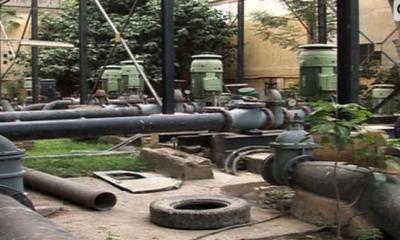 دھابیجی پر بجلی بریک ڈاؤن: 72 انچ قطر کی لائن پھٹنے سے کراچی کا پانی بند