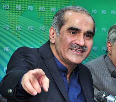 Khawaja Saad Rafique's message on social media