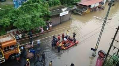 بارشوں اور سیلاب سے سات ریاستوں میں 774 افراد ہلاک اور 245 زخمی ہوگئے جبکہ 27 افراد لاپتہ