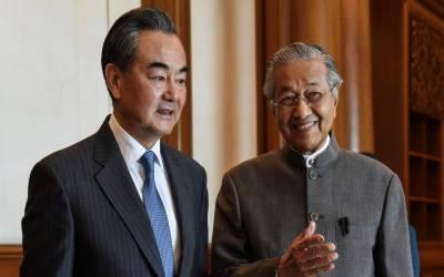 ملائشیا کا چین کے ساتھ اربوں ڈالر کے معاہدے منسوخ کرنے کا اعلان
