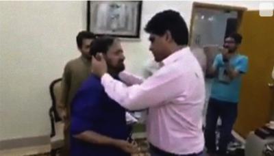 تشدد کا نشانہ بننے والے شہری نے پی ٹی آئی کے رکن اسمبلی کو معاف کردیا