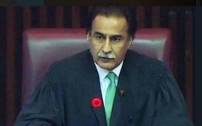 سردار ایاز صادق نے جاتے جاتے بھی عمران خان کا نام لئے بغیر طنز کر ہی ڈالا۔