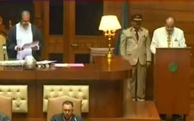 آغاز سراج درانی سندھ اسمبلی کے دوسری بار سپیکر منتخب