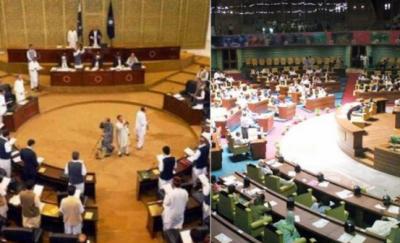سندھ اور خیبرپختونخوا اسمبلی میں قائد ایوان کا انتخاب آج ہوگا