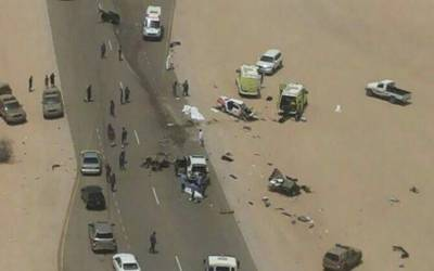 اومان میں خوفناک ٹریفک حادثہ، سعودی خاندان کے 7 افراد جاں بحق