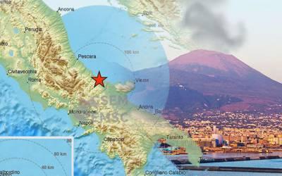 اٹلی:دو گھنٹوں میں نو مرتبہ زلزلے کے جھٹکے،1 نوجوان زخمی