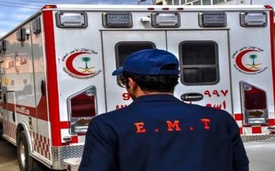 سعودی عرب: ٹریفک حادثہ، 4 جاں بحق، 5 زخمی