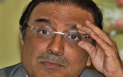 سابق صدر آصف زرداری کا مسلم لیگ ن کے وفد سے ملنے سے انکار