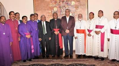 آرمی چیف کا مسیحی مذہبی رہنماؤں کے اعزاز میں عشائیہ