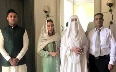 وزیر اعظم پاکستان عمران خان کی بیگم خاتون اوّل بشریٰ بیگم نے کیا نئی رہائش گاہ کا دورہ