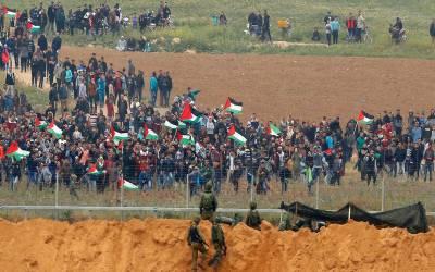 فلسطینی ریلی پرفائرنگ، ناروے کی سماجی کارکن سمیت متعدد زخمی