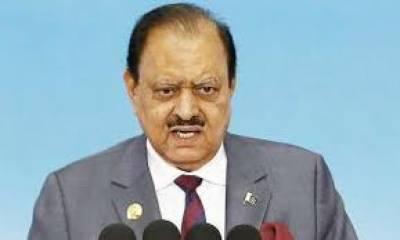 پاکستان کو سیاسی، سماجی و معاشی مسائل نے نکالنے کے لیئے سنت ابراہیمی سے رہنمائی کی ضرورت ہے: ممنون حسین
