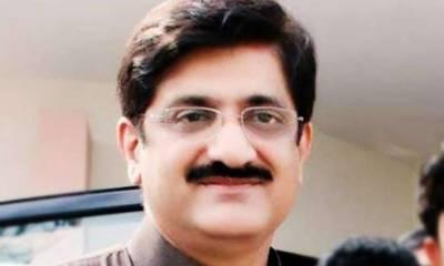 وزیر اعلیٰ سندھ سید مراد علی شاہ قائم مقام گورنر آغا سراج درانی کی گڑھی خدا بخش بھٹو آمد