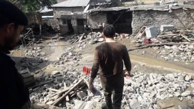 چترال کے پہاڑی علاقہ اوسیک میں طوفانی بارش اور تودے گرنے سے تباہی
