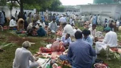 کراچی میں جماعت اسلامی کے زیر اہتمام پچاس ہزار اجتماعی قربانیاں کی گئیں