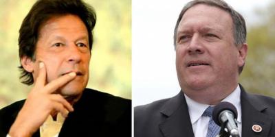 امریکی وزیر خارجہ مائیک پومپیو نے وزیراعظم عمران خان کو ٹیلی فون