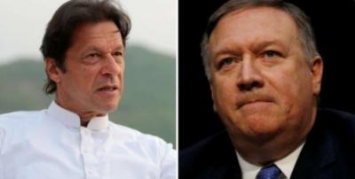 مائیک پومپیو اور وزیراعظم عمران خان کی ٹیلیفونک گفتگو، امریکا اپنے موقف پر قائم