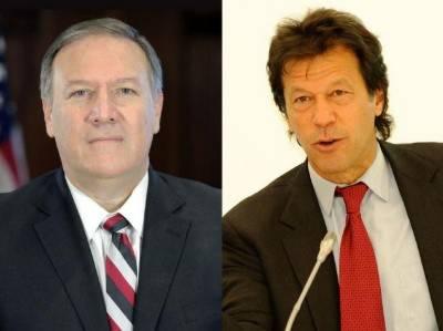 وزیراعظم عمران خان اور امریکی وزیر خارجہ کے درمیان ٹیلیفونک گفتگو: پاکستان کا امریکی دباو میں آنے سے صاف انکار