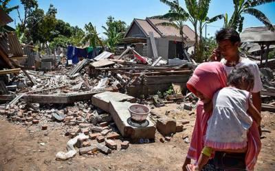 انڈونیشیا میں6.3شدت کا زلزلہ، ہلاکتوں کی تعداد 555 ہو گئی۔