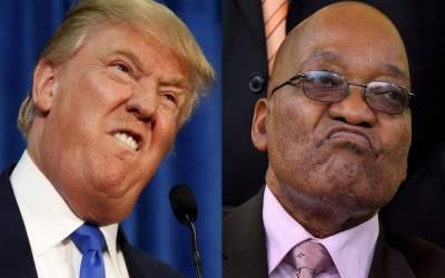ڈونلڈ ٹرمپ نسلی کشیدگی کو ہوا دے رہے ہیں۔ جنوبی افریقا