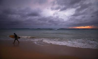 امریکی ریاست ہوائی سے ٹکرانے کے بعد سمندری طوفان لین کا زور ٹوٹ گیا۔