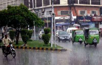 ملک کے مختلف علاقوں میں مون سون بارشوں کا سلسلہ جاری