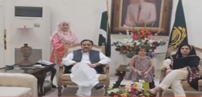 وزیراعلیٰ پنجاب سردار عثمان بزدار اپنی فیلمی کے ہمراہ چیف منسٹر ہاؤس میں شفٹ ہوگئے ہیں